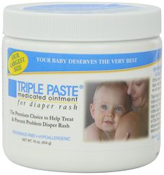 Triple Paste Medicated Ointment for Diaper Rash, 16-Ounce - expensive. so totally worth it. best diaper cream ever.
