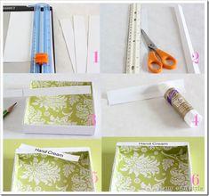 Cut-paper-strips