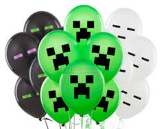minecraft balloon party - Google Search