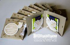 Teeverpackung mit Stampin Up und Vintage Leaves