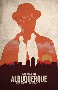 Albuquerque Breaking Bad alternative film von TheCelluloidAndroid
