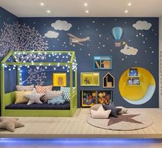 Things to Consider before Making Kids Playground Design - Kinderzimmer Baby Bedroom, Baby Boy Rooms, Girls Bedroom, Playground Design, Kids Room Design, Kid Spaces, Baby Decor, Toddler Bed, Home Decor