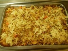 Italian Beef Casserole Italian Beef, Beef Casserole, Casseroles, Macaroni And Cheese, Food Ideas, Favorite Recipes, Meals, Ethnic Recipes, Casserole Dishes