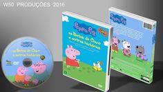 Peppa Pig - As Botas De Ouro E Outras Histórias - DVD - ➨ Vitrine - Galeria De Capas - MundoNet | Capas & Labels Customizados