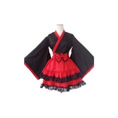 Top One Japan School Uniform Cosplay Costume Anime Girl ($32) ❤ liked on Polyvore featuring dresses and anime