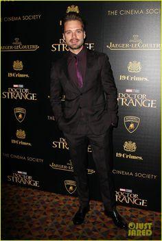 Sebastian Stan @ NY screening of 'Doctor Strange'
