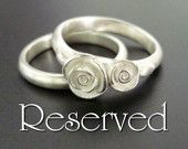 Sterling silver jewelry (no gold please)