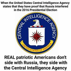I really don't understand why more Americans aren't outraged by the way Congress is siding with Russia over our own intelligence operations! !