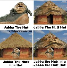 Star Wars Art Discover Im still in my Jabba The Hutt Hut Star Wars Trivia, Star Wars Witze, Star Wars Jokes, Star Wars Facts, Star Wars Rebels, Funny Star Wars, Jabba The Hutt, Rasengan Vs Chidori, Star Wars Pictures
