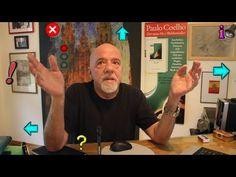 Videocast #8 - Paulo Coelho talking about the language of signs.    Videocast #8 - Paulo Coelho falando sobre a linguagem dos sinais.    Videocast #8 - Paulo Coelho hablando acerca del lenguaje de los señales.