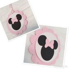 MINNIE MOUSE TAGS minnie mouse thank you by MommysCustomCreation