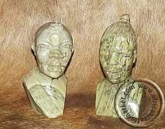 African hand carved stone tribal bust of old man Jade Stone, Stone Carving, Hand Carved, African, Personalized Items, Color, Women, Stone Sculpture, Colour