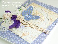Открытка из бумаги Secret Garden от Graphic45
