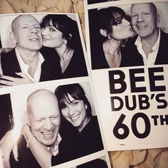 Inside Bruce Willis' Blowout 60th Birthday Bash—Get the Exclusive Details!  Bruce Willis, Isntagram