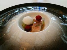 Plate with eal at restaurant Inter Scaldes ** Kruiningen, The Netherlands.