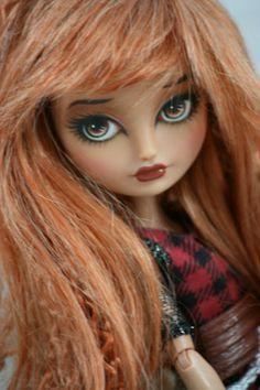 Monster High Ever After Cerise Hood OOAK Repaint Raven | eBay