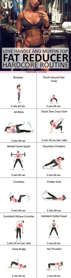 #womensworkout #workout #female fitness Repin and share if this workout gave you a six pack! Click the pin for the full workout.