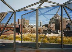 Diane von Furstenberg's penthouse