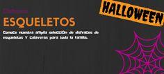 Disfraces de Esqueletos y Calaveras para Halloween #blog #tienda #disfraces #online #carnaval #halloween