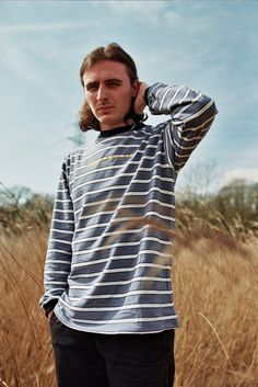 927dfc8e3 Have A Nice Day - Premium Striped Long Sleeve T - Shirt