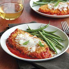 Chicken Parmesan | MyRecipes.com #MyPlate #protein #dairy #vegetable