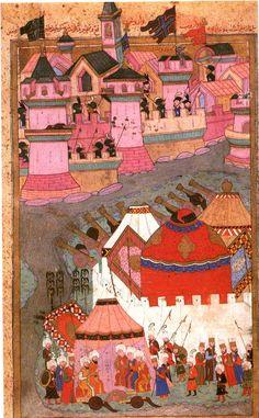 Osmanlı Minyatürlerinde Savaş, Kuşatma ve Çıkartma