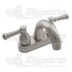 Nice DURA Designer Non Metallic Arc Spout Brushed Satin Nickel RV Lavatory Faucet