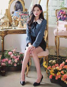 korean fashion outfits 0757 - Another! Korean Fashion Trends, Korean Street Fashion, Asian Fashion, Korea Fashion, Fashion Models, Girl Fashion, Fashion Looks, Fashion Outfits, Fashion Tips