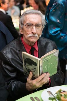 Playwright extraordinaire Edward Albee at PEN Literary Gala in NYC