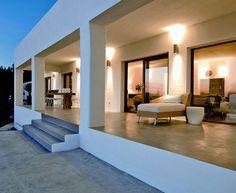 Modern Deserted Beach House modern house exterior