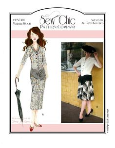 Myrtlewood Dress Sewing Pattern by Sew Chic Pattern Company
