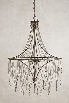 Skeleton Key Chandelier - anthropologie.com