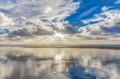 Today's inspirational wave wisdom print sent with love. Heaven's Kiss - A Photographic Print Of A Saunton Sands Sunset https://etsy.me/2xDZqST #art #photography #gold #blue #photographicart #seascape #sauntonart #bigskies #beachart #saunton #beauty