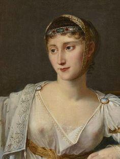 Robert Lefèvre, Pauline Bonaparte-Borghèse, duchesse de Guastalla (1780-1825), 1806. Huile sur toile © Château de Versailles (dist. RMN-Grand Palais) / Christophe Fouin