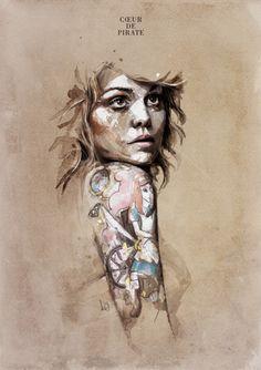 emosloppy:    Coeur de pirate by ~neo-innov/Florian Nicolle
