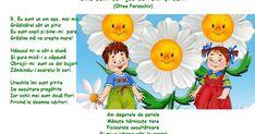 Voce, Oltea Paraschiv Mișcările sugerate de text: La refren: -indicarea înălțimii cu mânuța dreaptă întinsă în față; -atingerea pi... Alphabet Art, Montessori, Kindergarten, Family Guy, Audio, Crafts, Fictional Characters, Pray, Google