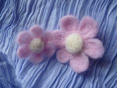 Mes clématites en laine cardée | Jolie Rue, le blog