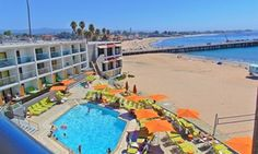 Groupon - Stay at Santa Cruz Dream Inn in California, with Dates into March in Santa Cruz, CA. Groupon deal price: $140