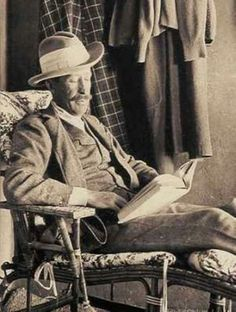 Lord Carnarvon, the wealthy English aristocrat who sponsored Howard Carter's exploration and eventually discover of King Tut's Tomb