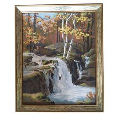 Paint by Number Waterfall $30