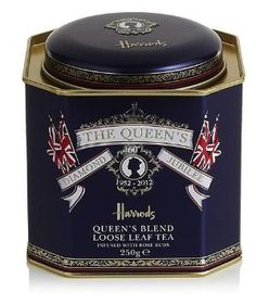 HARRODS Queen's Blend Loose Leaf Tea. by Eva0707