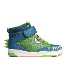"SO FUN FOR JAX! he needs ""Winter"" sneakers sz 11.5 H&M Printed High Tops $29.95"