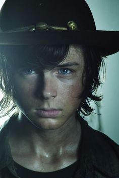 'Walking Dead': How Carl lost his eye - Hollywood Reporter