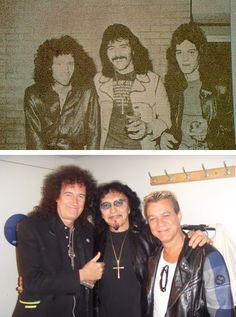 Brian May, Tony Iommi and Eddie van Halen!