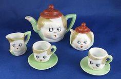 Antique Child China Tea Set | eBay