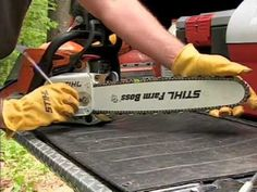 STIHL - Chain Saw Safety, Operation & Maintenance                                                                                                                                                                                 More
