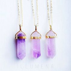 Amethyst On Gold