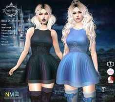 Petite Mort Enchantment Ella Chiffon Dress New Release: Ella Chiffon dress sold at the event Price: 185 L$, Demo is available Store Name: Petite Mort @ Enchantment Presents – Cinderella…