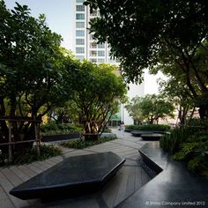 Life @ Ladprao Urban Park von Shma Designs in Bangkok, Thailand - Garten Landscape Elements, Landscape Architecture Design, Green Architecture, Architecture Jobs, Architecture Portfolio, Architecture Diagrams, Traditional Landscape, Contemporary Landscape, Urban Landscape