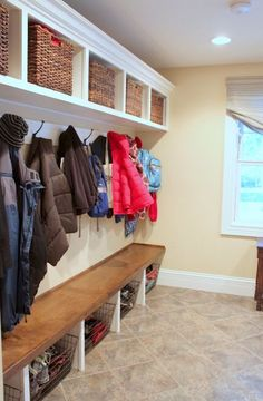 love, love, love this mudroom...my dream home will have one of these